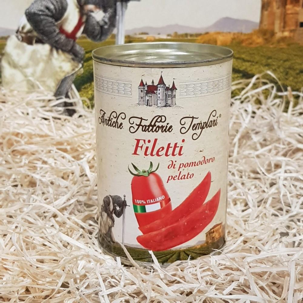 Filetti di Pomodoro Pelato conf. 6×400 gr