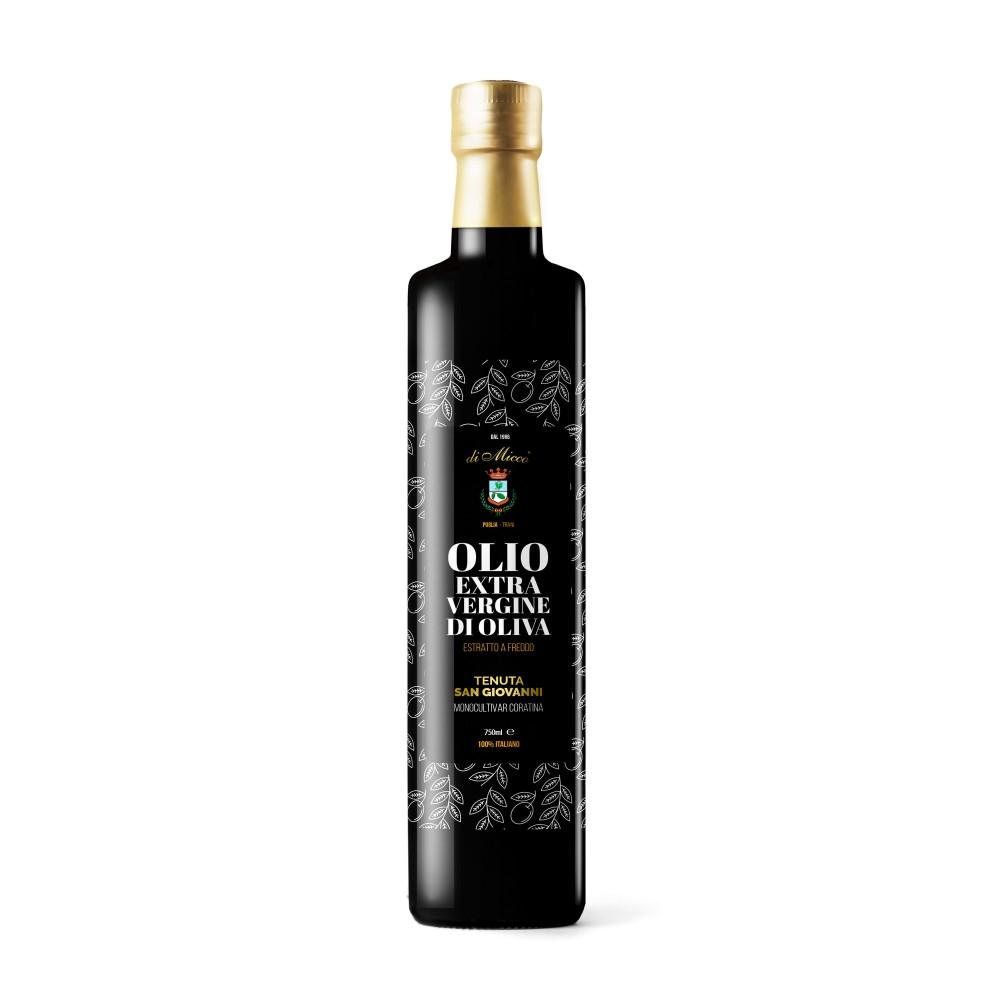Bottiglia olio EVO 750ml