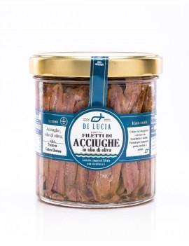 Filetti di Acciughe in olio d'oliva 1 Kg