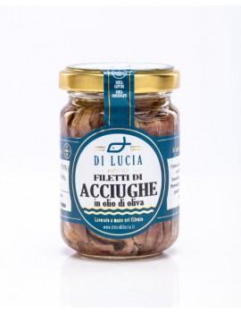 Filetti di Acciughe in olio d'oliva 150 g