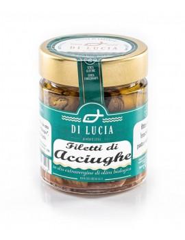 Filetti di Acciughe in olio extra vergine biologico 150 g