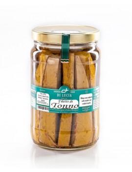 Filetti di Tonno in olio extra vergine di oliva biologico