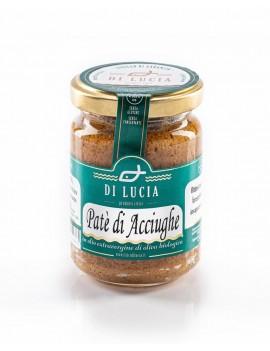 Paté di Acciughe in olio extra vergine di oliva biologico