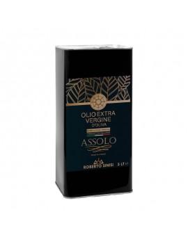 Olio extravergine di oliva 5 litri Assolo