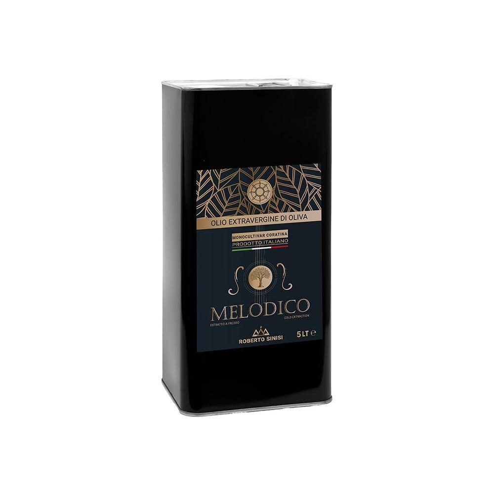 Olio extravergine di oliva melodico 5 litri