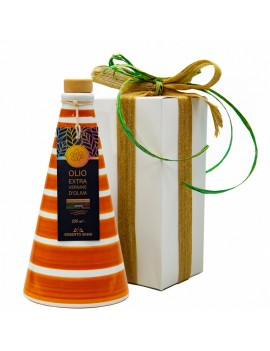 conica orcio in ceramica arancio grand color