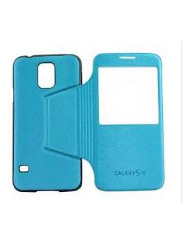 CUSTODIA PER SAMSUNG GALAXY S5 G900 CELLULAR LINE BACKBOOKGALAXYS5BL BLUE