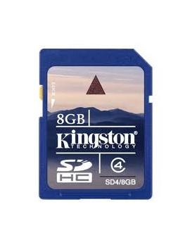 MEMORY CARD SECURE DIGITAL 08GB KINGSTON CLASSE 4MEMORY CARD SECURE DIGITAL 08GB KINGSTON CLASSE 4