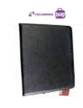 CUSTODIA PER APPLE IPAD CON SUPPORTO CORNICE TECHMADE LSIPAD1002 BLACK