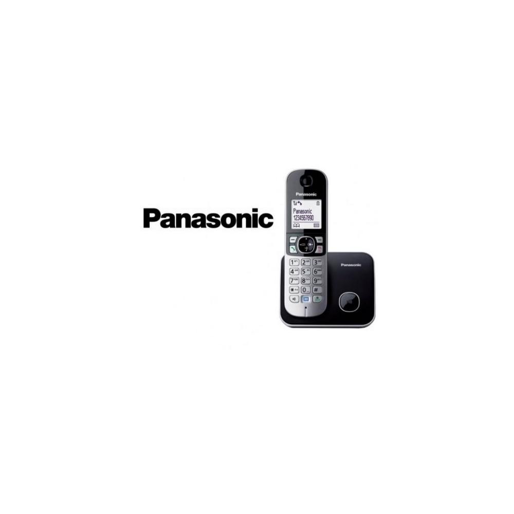 CORDLESS PANASONIC KX-TG6812JTB DUO BLACK