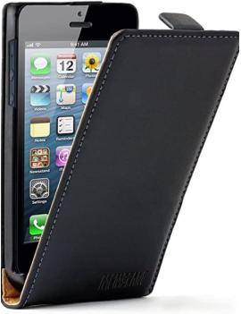 CUSTODIA PER APPLE IPHONE 5 TOP FLIP PATRICK TOP-I5N BLACK