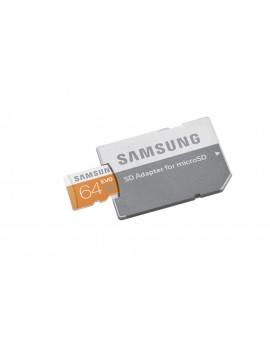 MEMORY CARD MICRO SD/TRANSFLASH 64GB SAMSUNG CLASSE 10 MB-MP64DA/EU