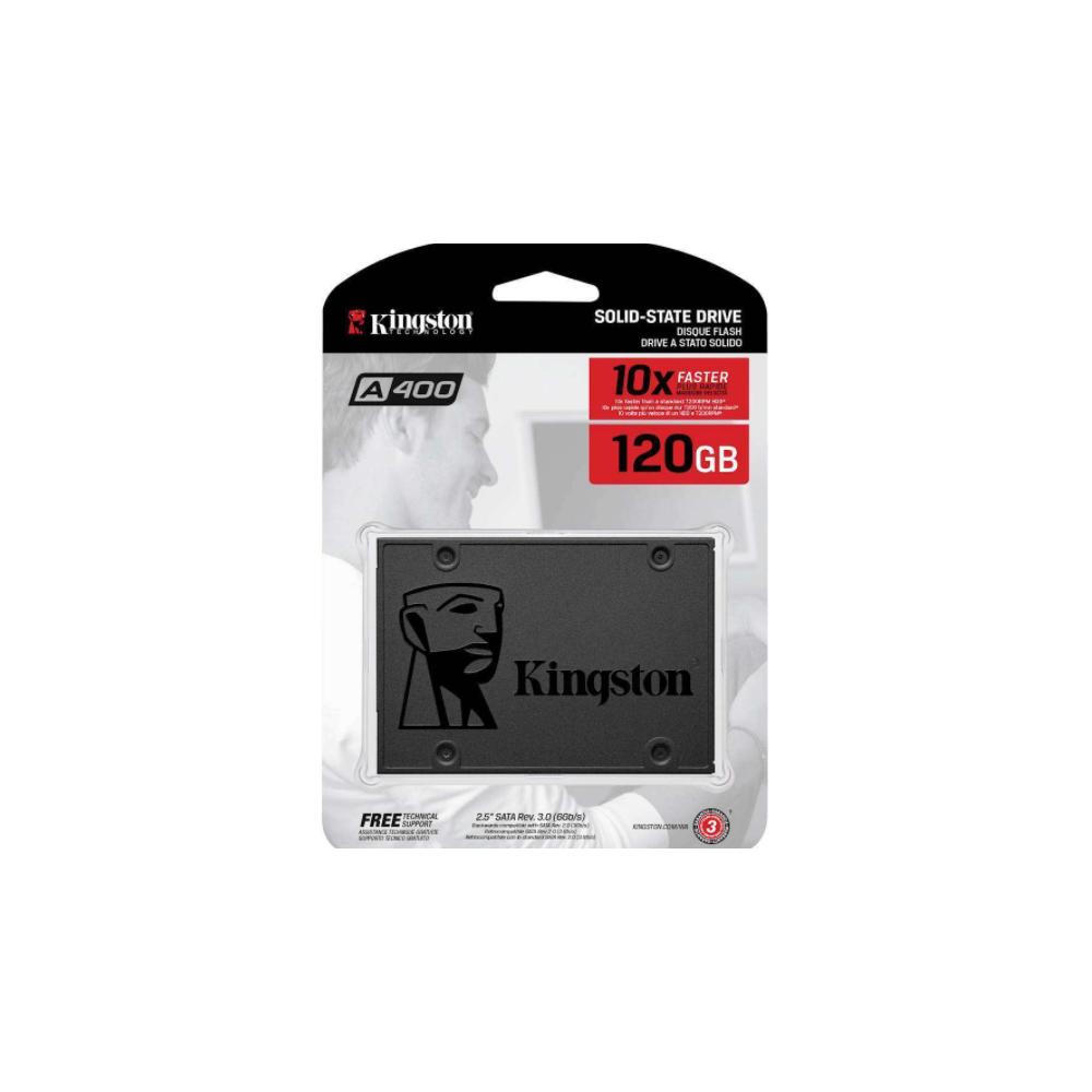 HARD DISK 2,5 SSD 120GB KINGSTON SOLID STATE UV400 SA400S37/120GB