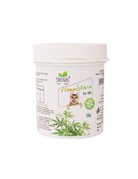 Hempstevia Cats Foglie e pianta di Canapa e Stevia - Ciaoone