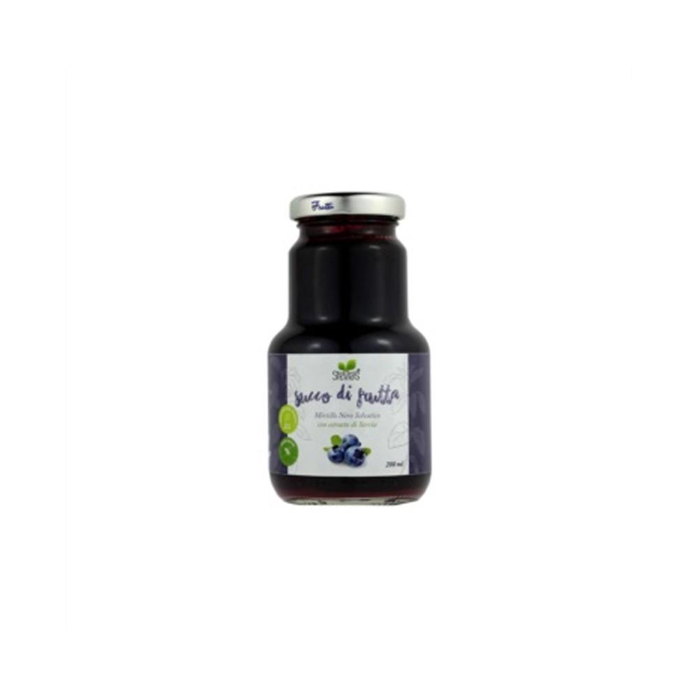 Succo di Mirtillo dolcificato con Stevia - Ciaoone