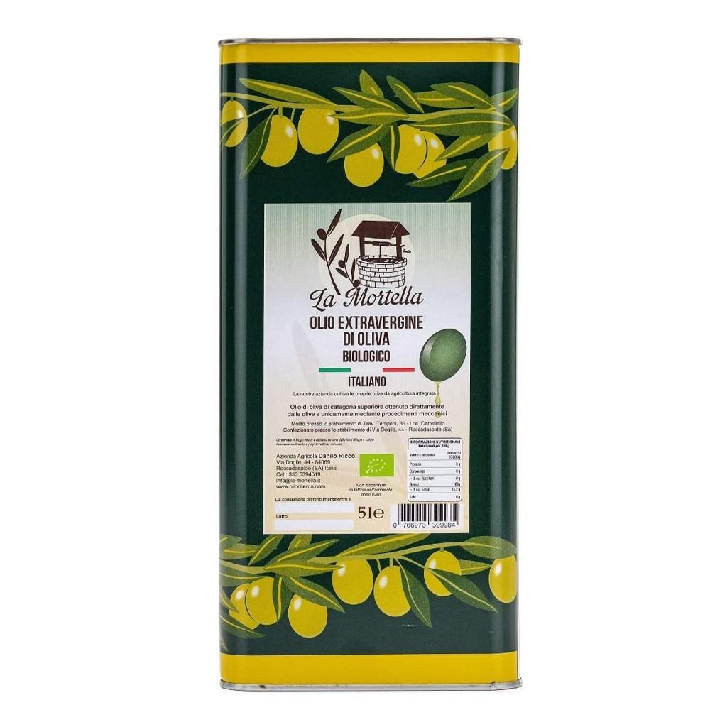 Olio extravergine di Oliva biologico Conf. da 1 lattina -