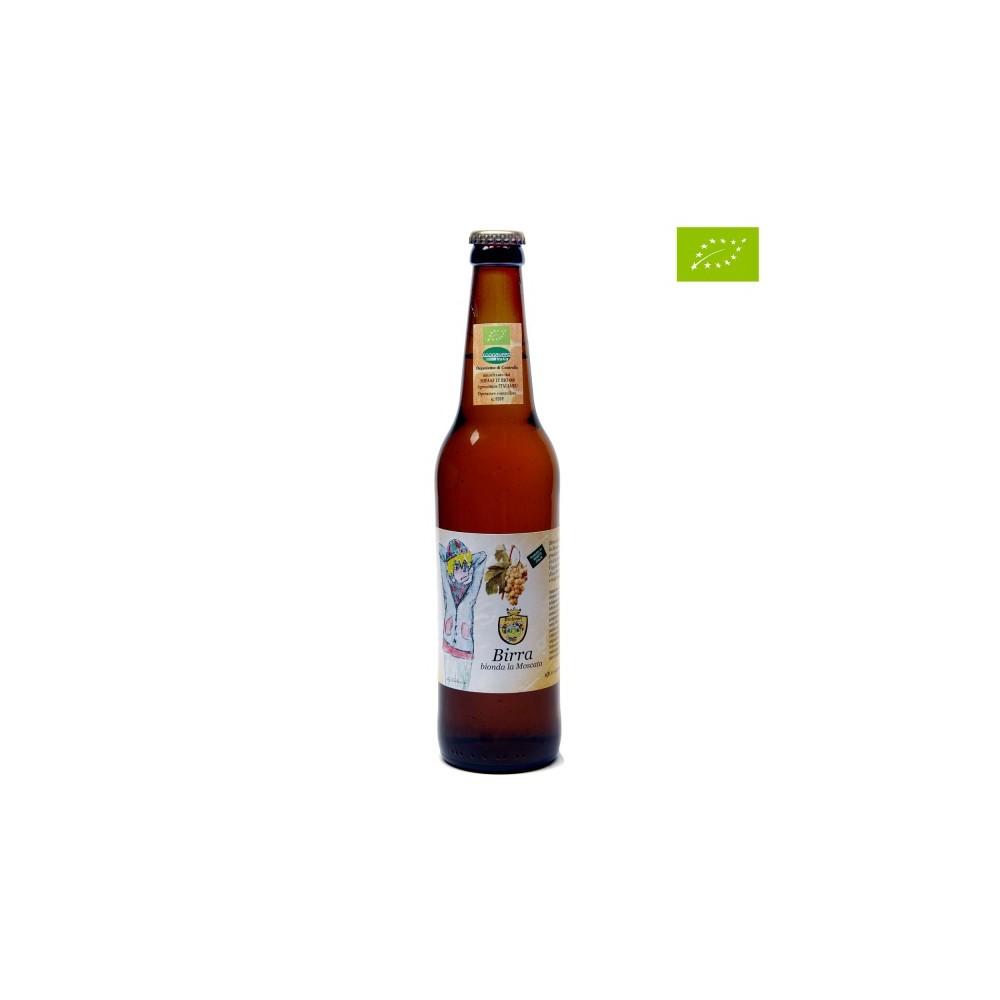 LA MOSCATA – Birra bionda artigianale biologica al Miele Millefiori