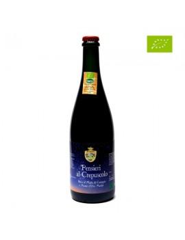 PENSIERI AL CREPUSCOLO – Birra rossa artigianale biologica al Miele di Castagno