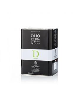 Olio extravergine di oliva DELIZIOSO – 2 lattine da 3 litri Mazzierri olio