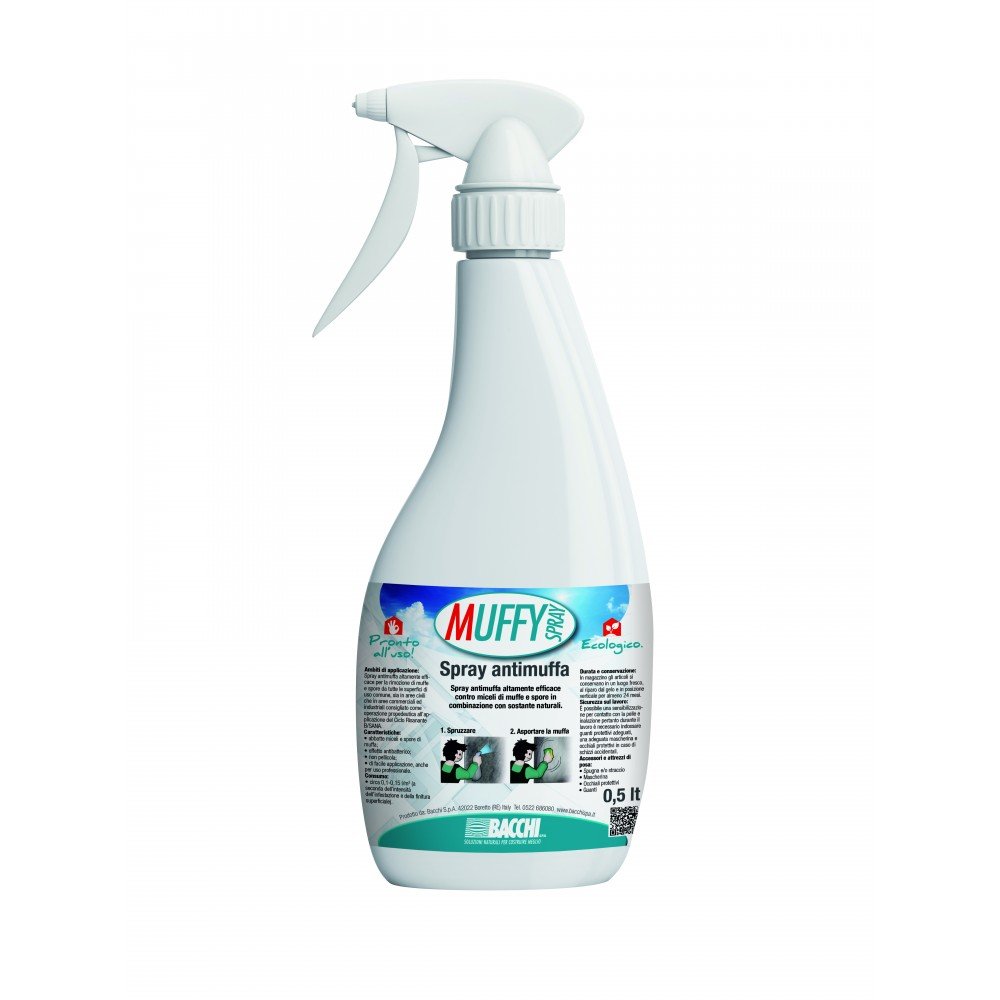 MUFFY Spray Antimuffa e Antispore