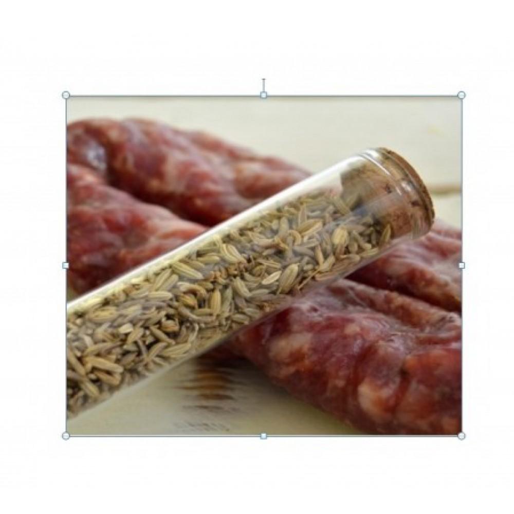 Salsiccia Cilentana stagionata  con finocchietto