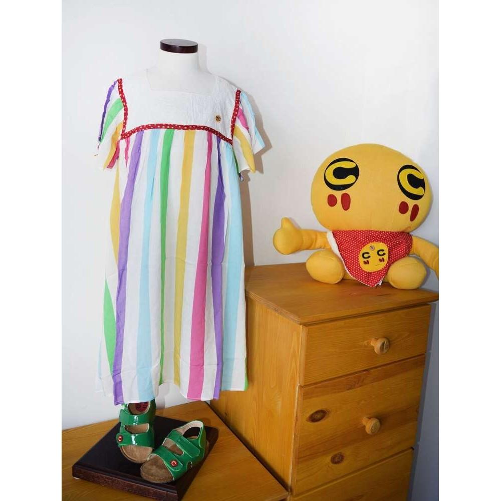 Vestito righe colorate