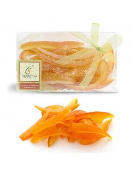 Lunette di arancia ricoperte di zucchero 200 gr