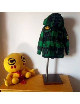 Cappotto verde scozzese