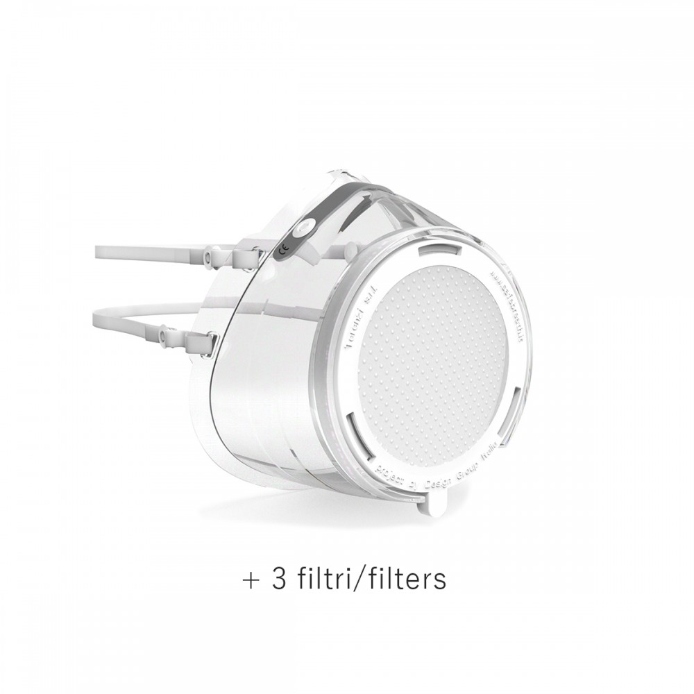 Safe Breath maschera + 3 filtri