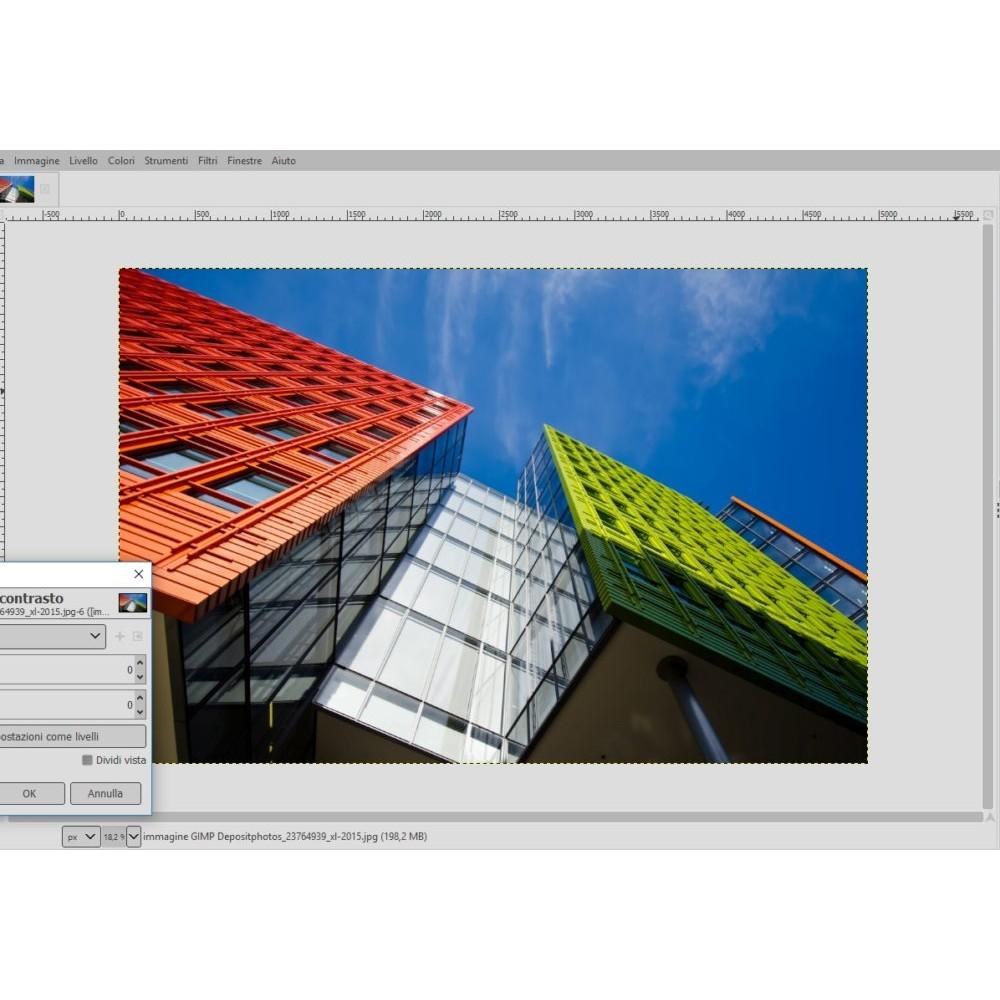 Corso GIMP elearning fotoritocco ed editing immagini