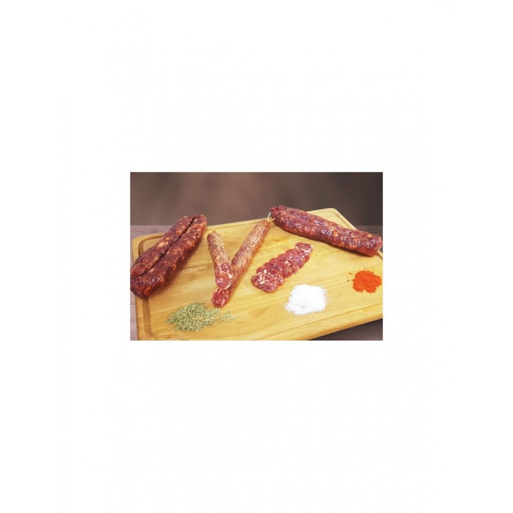 Salsiccia piccante 350g c.