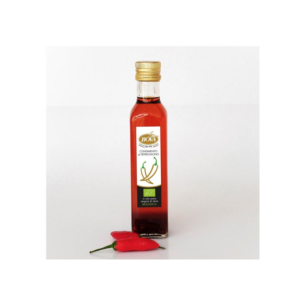 Condimento al peperoncino in Olio Bio da 250 ml