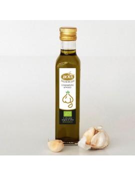 Condimento all aglio in Olio Bio da 250 ml